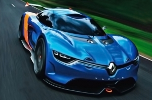 The Renault Alpine