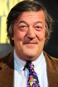 Actor Stephen Fry arrives at the premier