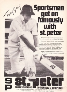 1977 Tony Greig St Peter