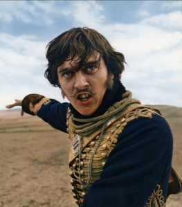 1968. David Hemmings tries to make a better stab of it than Errol Flynn. He failed too.