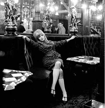 Marianne Faithfull, The Salisbury Pub, London by Gered Mankowitz